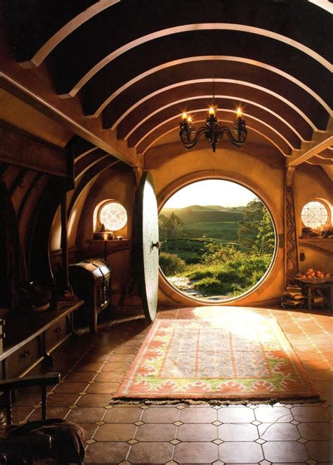 Hobbit Interior by Bilbo Baggins House Plans Images