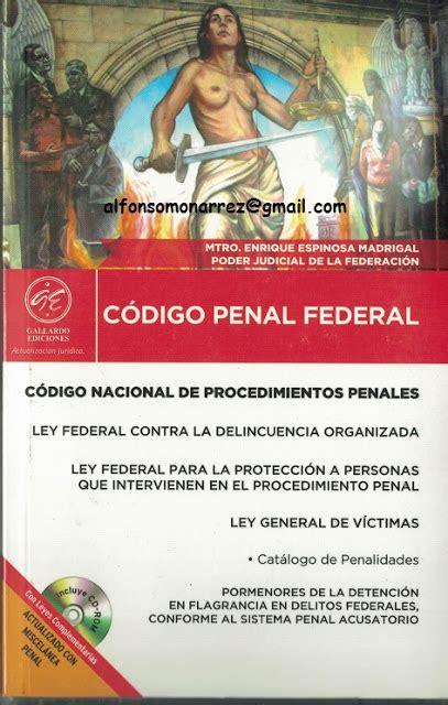 codigo familiar federal 2016 libros en derecho c 211 digo penal federal