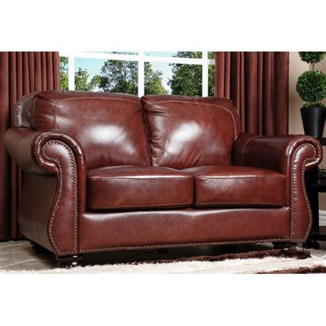 semi aniline leather sofa living room sets wayfair