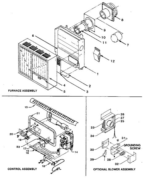 york furnace parts diagram williams wall furnace thermostat wiring diagram wiring