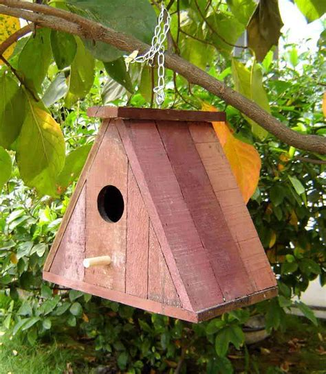 wooden bird houses french oak bird house