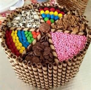 tortas golosineras imgenes candy cake torta decorada con dulces postres decorados
