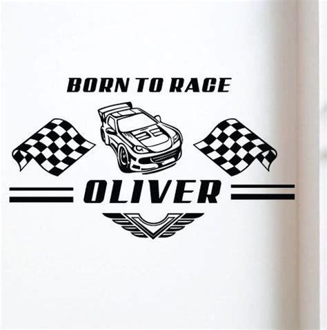 race car wall stickers sticktak stickers born to race car nursery vinyl wall