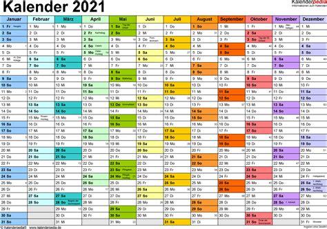 Kalender 2018 Querformat In Farbe Kalender 2021 Word Zum Ausdrucken 16 Vorlagen Kostenlos