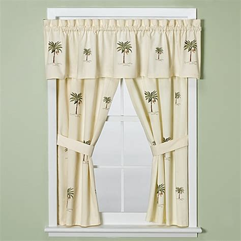 bathroom window valance croscill 174 port of call bathroom window curtain pair bed