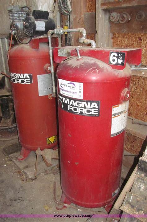 sanborncoleman powermate magna force air compressor