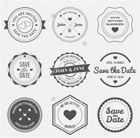 Wedding Logo Images by Wedding Logo Template 90 Free Psd Eps Ai Illustrator