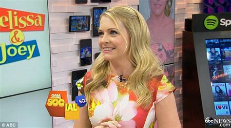 Melissa Joan Hart Hides Slimmer Figure In Floral Dress On