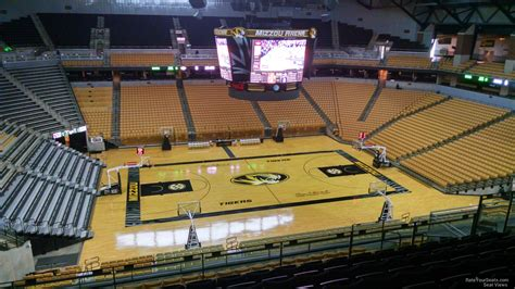 Section 8 Columbia Mo by Mizzou Arena Section 205 Rateyourseats