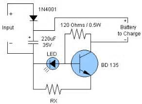 nicd amp nimh battery charger circuit circuit diagram