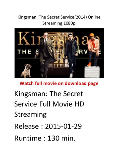 watch online kingsman the secret service 2015 full movie hd trailer kingsman the secret service 2014 comedy action movie