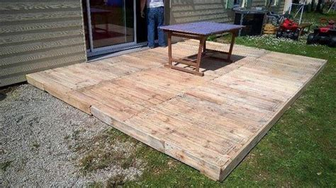 outdoor patio flooring ideen diy pallet patio furniture pallet deck