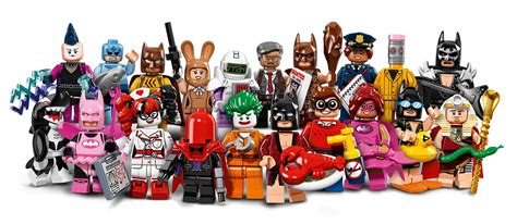 Lego Minifigures Series Batman Commissioner Gordon Minifigure here are all 20 minifigs from the lego batman minifigure series