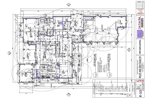 electrical floor plans riverside custom