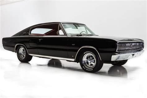 Charger Auto by 1966 Dodge Charger Black Red 440 727 Auto Automatic