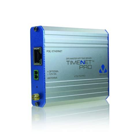 veracity vtn tn pro timenet pro poe powered ntp master