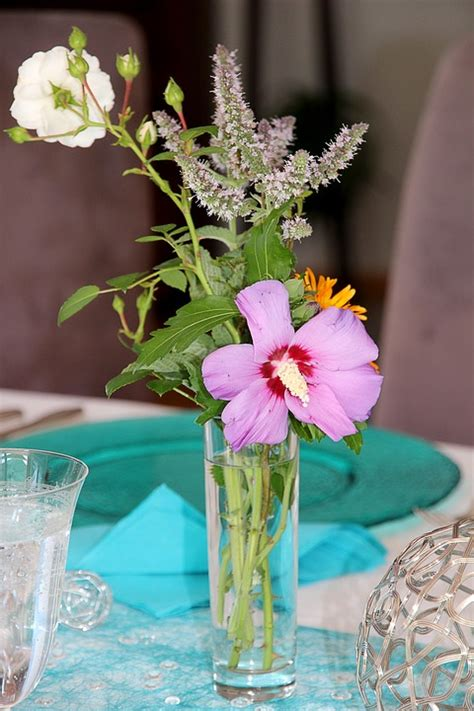 Table Vase Decorations by Free Photo Table Decorations Flower Vase Free Image