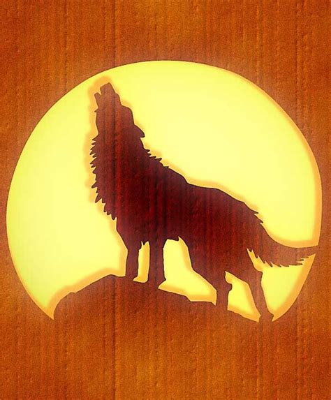 wolf pumpkin template pumpkin carving ideas the lone wolf