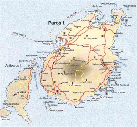 map  paros