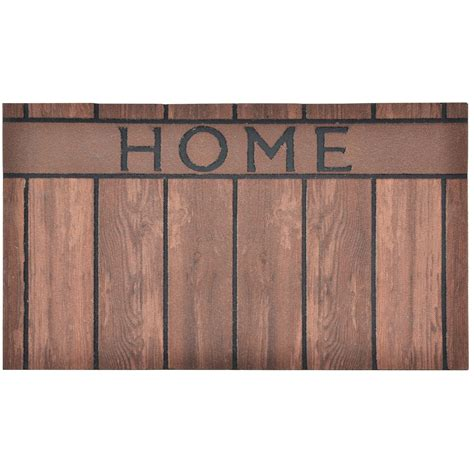 modern doormats flocked rubber modern welcome design doormat floor 75cm indoor outdoor nylon hom