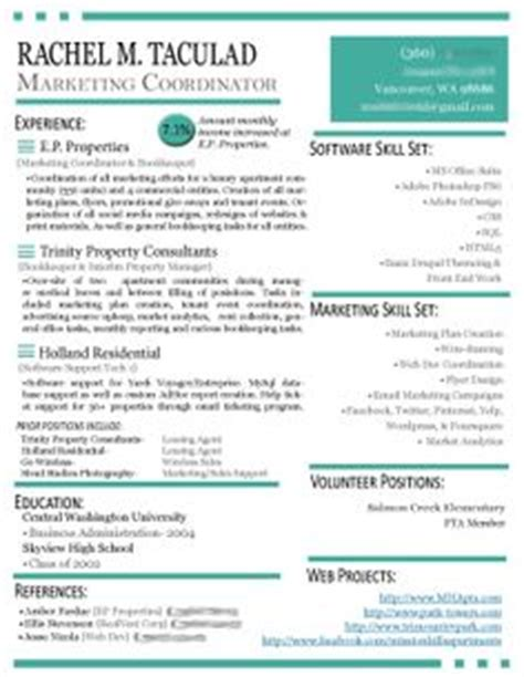Sles Of Creative Resume 1000 Images About Resources On Resume Marketing Resume And Resume Design