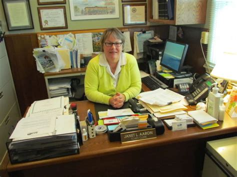 town clerk still enjoying after 20 years in office