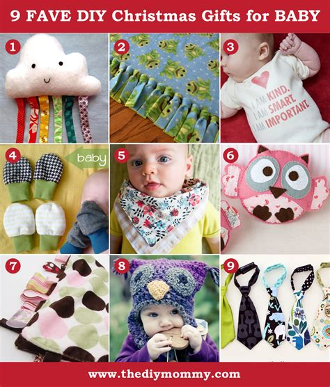 Handmade Gifts For Baby - a handmade diy baby gifts the diy