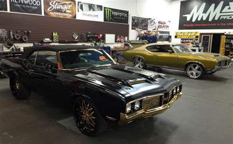 cam newton s 24k gold plated oldsmobile is truly one of a
