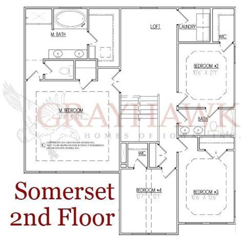 somerset floor plan somerset 2nd floor plan grayhawk homes of iowa new