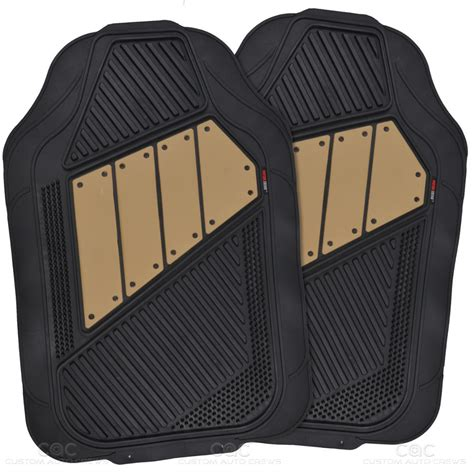 Seat Mats by Interior Set Rome Car Seat Cover Rubber Mat