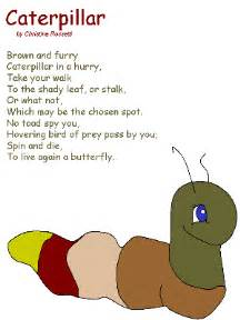 caterpillar poem