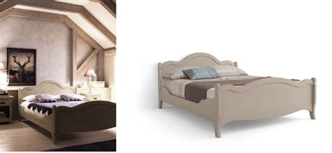 letto country letto matrimoniale country tabi 224 con pediera