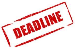 Of Application Deadline Application Deadline Apply Asap European Summer School