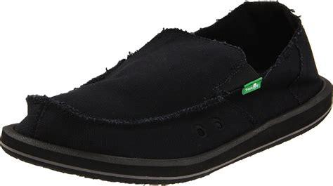 sanuk mens vagabond sandal shoe in black for lyst