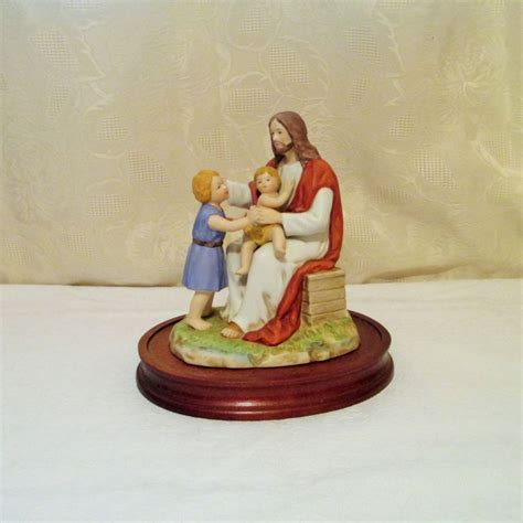 home interior jesus figurines 1000 images about christian figurines from home interiors on vintage last supper