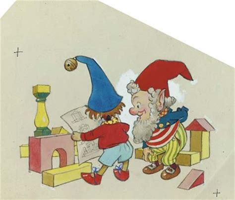 noddy painting noddy and big ears with plans for noddys house by harmsen