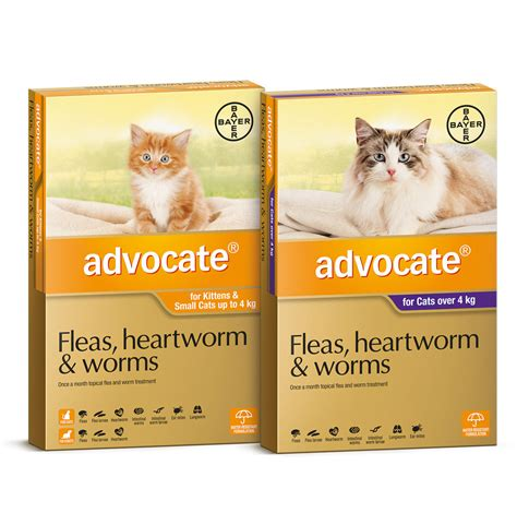 Advocate Cat Size S advocate for cats flea treatment