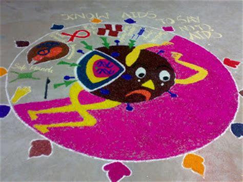 rangoli medical themes art of rangoli 2007