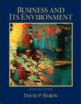 Books Stanford Mba by Business And Its Environment 7th Edition Stanford