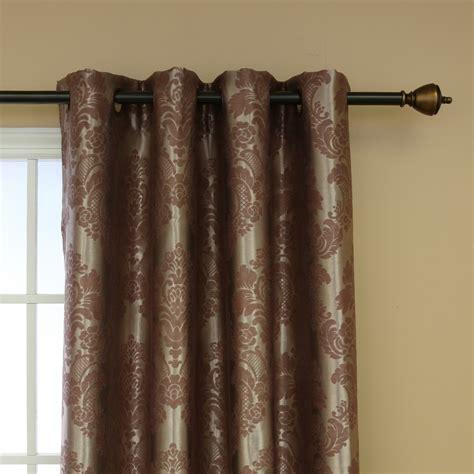 gardinen braun blinds curtains room darkening curtains for