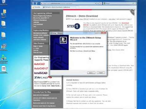 zwcad tutorial youtube how to install zwcad zwmech youtube