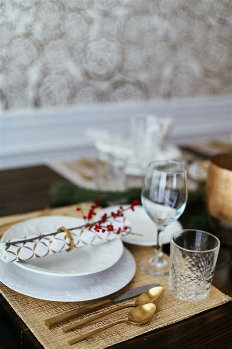 and new year table setting ideas in honor of design