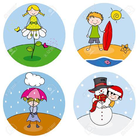 seasons clipart four seasons clip cliparts