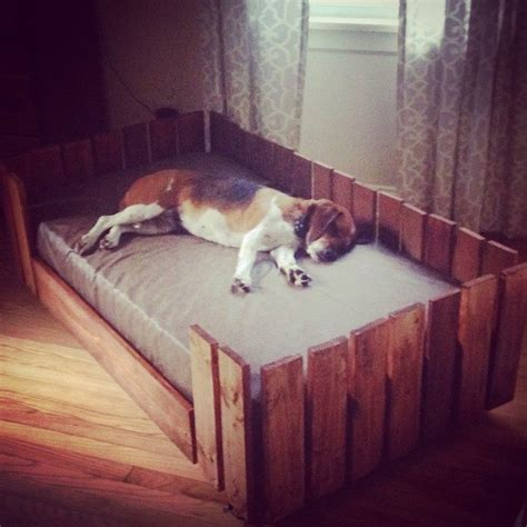 pallet dog bed diy projects