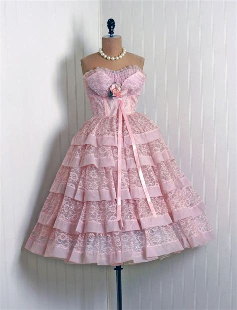 Drss 899 Dress Lace Pink 899 best images about vintage obsession on