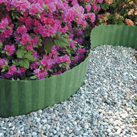 Landscape Edging Roll Gardman 9cm X 910cm Durable Plastic Lawn Edging Garden