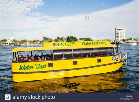boat taxi fort lauderdale ft lauderdale florida water taxi stock photos ft