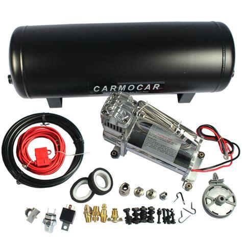 12v air compressor carmocar medium duty onboard air system with 2 5 gallon tank 686494022300 ebay