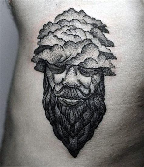 dark cloud tattoo 80 cloud tattoos for dwelling designs
