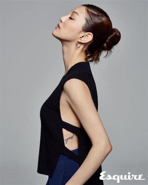 korean actress lee el rising actress lee el receives the spotlight in esquire